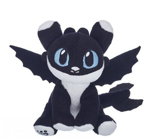How to Train Your Dragon The Hidden World Nightlight Exclusive Plush [Black & White, Blue Eyes]