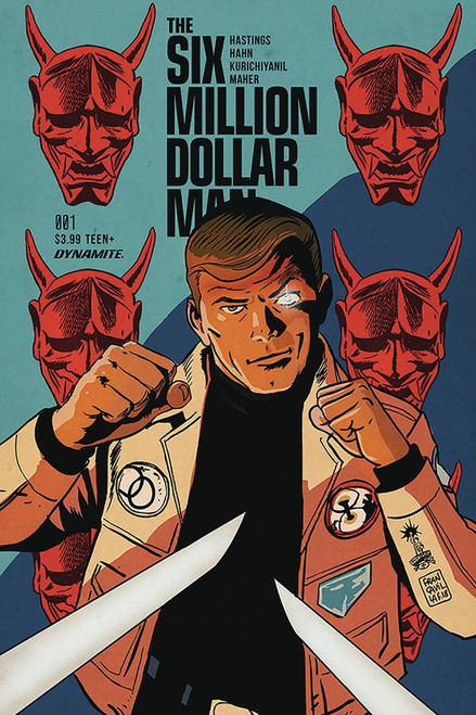 Dynamite Entertainment Six Million Dollar Man #1 Comic Book [Francavilla Cover C]
