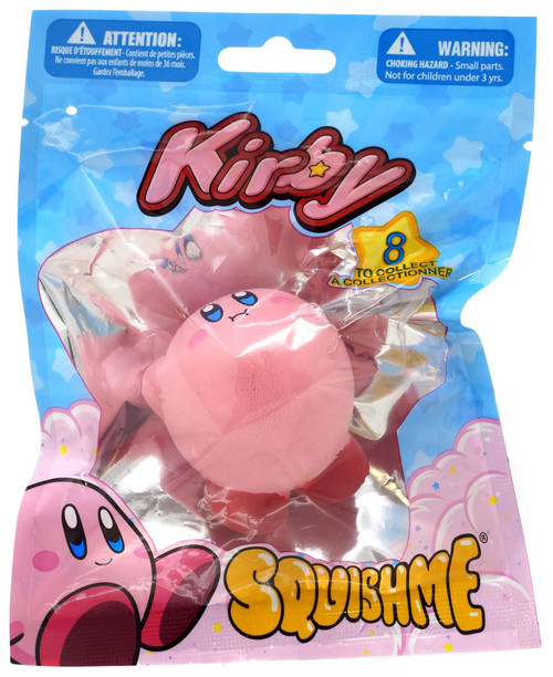 Kirby's Adventure Squishme Kirby Squeeze Toy [Flying]