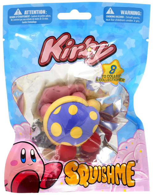 Kirby's Adventure Squishme Kirby Squeeze Toy [Sleeping]
