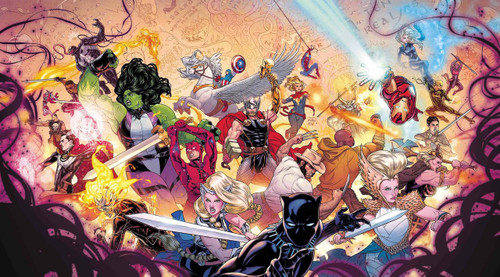 Marvel Comics War of The Realms #1 Comic Book [Russell Dauterman Wraparound Variant Cover]
