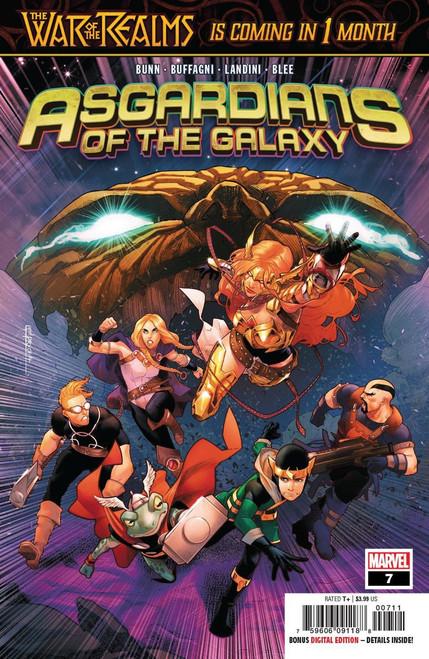 Marvel Comics Asgardians of the Galaxy #7 Comic Book
