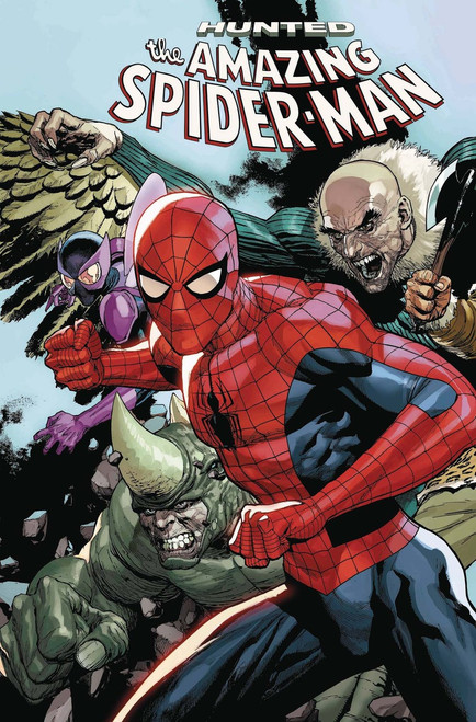 Marvel Comics Amazing Spider-Man #17 Comic Book [Yu Connecting Variant Cover]