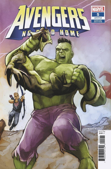 Marvel Comics Avengers: No Road Home #5 of 10 Comic Book [Phil Noto Connecting Variant Cover]