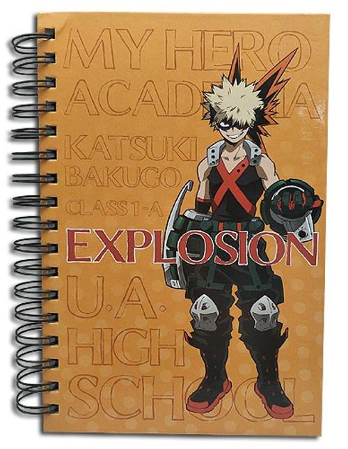 My Hero Academia Bakugo Katsuki Notebook