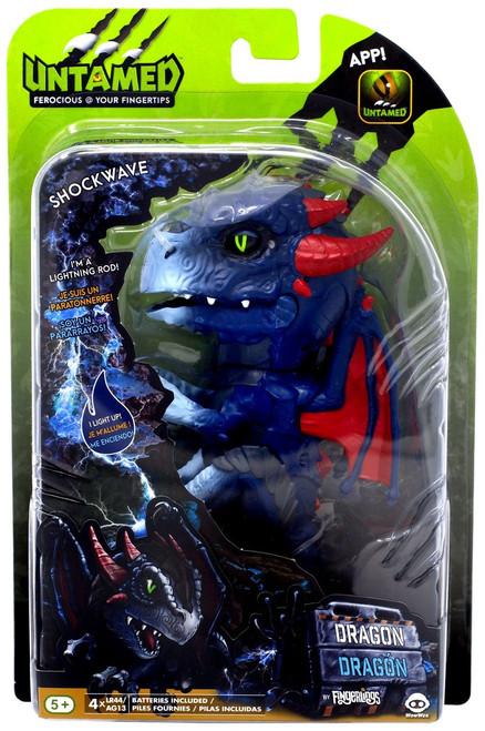 Fingerlings Untamed Dragon Shockwave Figure