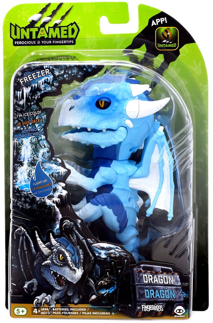 Fingerlings Untamed Dragon Freezer Figure