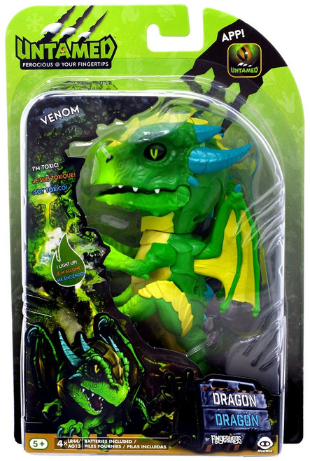 Fingerlings Untamed Dragon Venom Figure