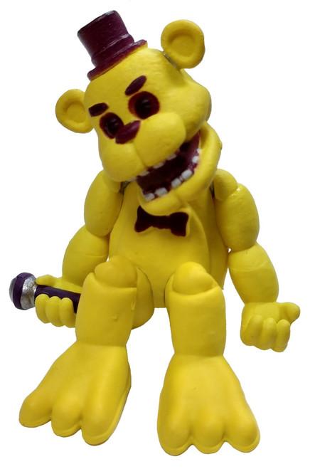 Funko Five Nights at Freddy's Blacklight Golden Freddy 2-Inch Vinyl Mini Figure [Loose]