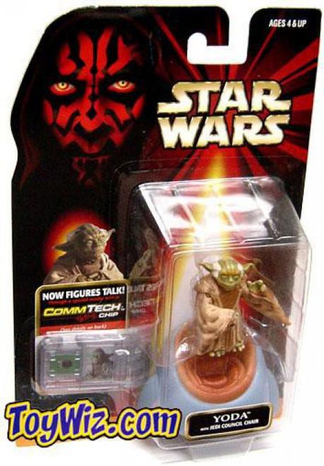 Star Wars Phantom Menace 1999 Episode I Basic Yoda Action Figure [No Logo on Card]