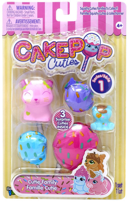 Cakepop Cuties Cutie Family Multipack [Strawberry Shortcat]