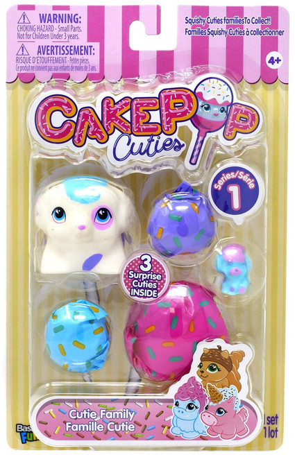 Cakepop Cuties Series 1 Cutie Family Multipack [Creampup]
