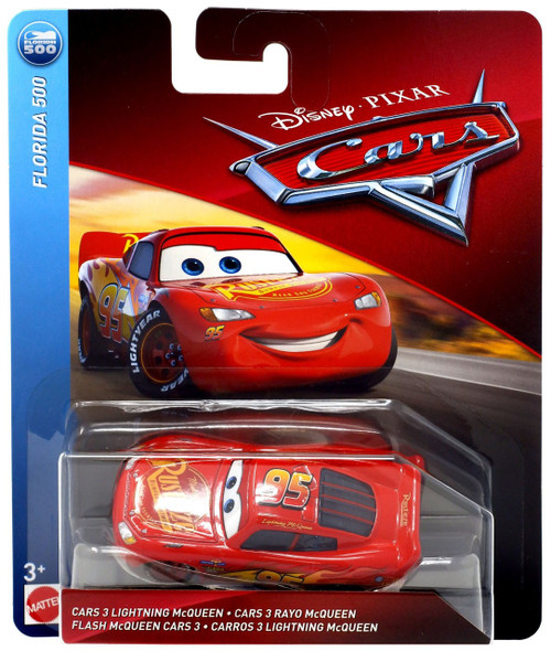 Disney / Pixar Cars Florida 500 Cars 3 Lightning McQueen Diecast Car [Regular]
