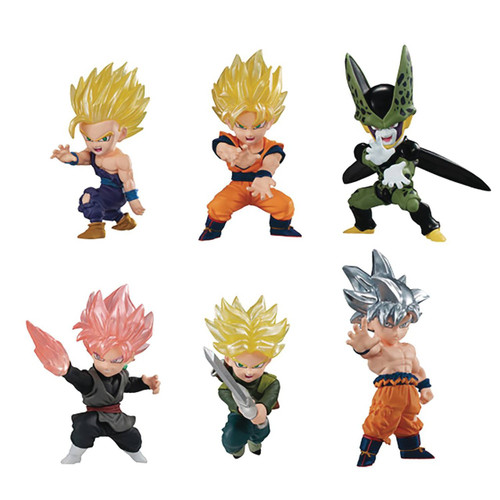 Dragon Ball Super Adverge Motion Wave 1 Box of 10 Mini Figures