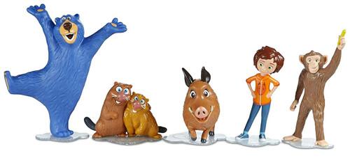 Wonder Park Boomer, Peanut, June, Gus & Cooper with Greta 2-Inch Figure 5-Pack