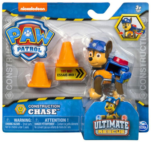 Paw Patrol Ultimate Rescue Construction Chase Figure
