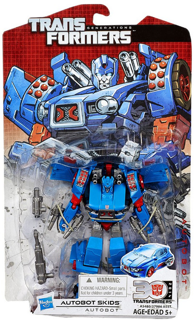 Transformers Generations 30th Anniversary Deluxe IDW Autobot Skids Deluxe Action Figure [No Comic Book]