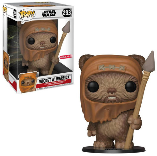 Funko Return of the Jedi POP! Star Wars Wicket W. Warrick Exclusive 10-Inch Vinyl Figure #293 [Super-Sized]