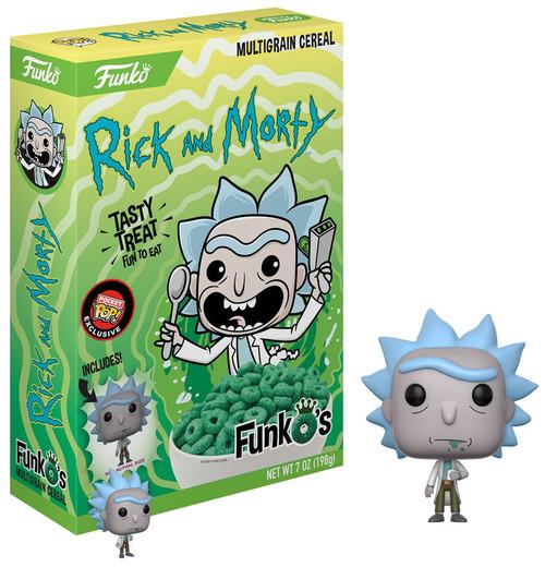 FunkO's Rick & Morty Exclusive 7 Oz. Breakfast Cereal [Rick]