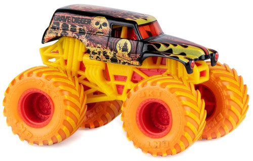 Monster Jam Fire & Ice Grave Digger Exclusive Diecast Car