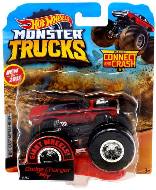 Hot Wheels Monster Trucks Dodge Charger R/T Diecast Car [1:64]