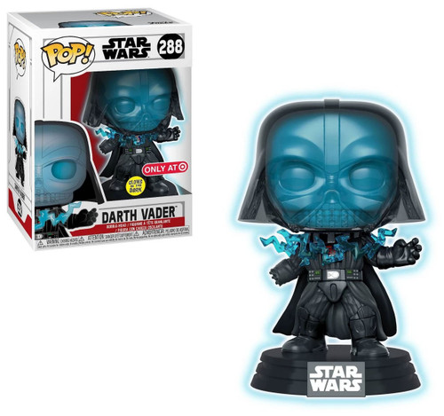Funko Return of the Jedi POP! Star Wars Darth Vader Exclusive Vinyl Figure #288 [Electrocuted, Glow-in-the-Dark]