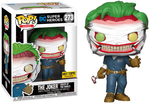 Funko DC Universe POP! Heroes The Joker Exclusive Vinyl Figure #273 [Death of the Family]