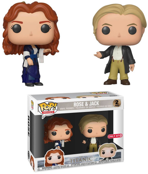 Funko Titanic POP! Movies Rose & Jack Exclusive Vinyl Figure