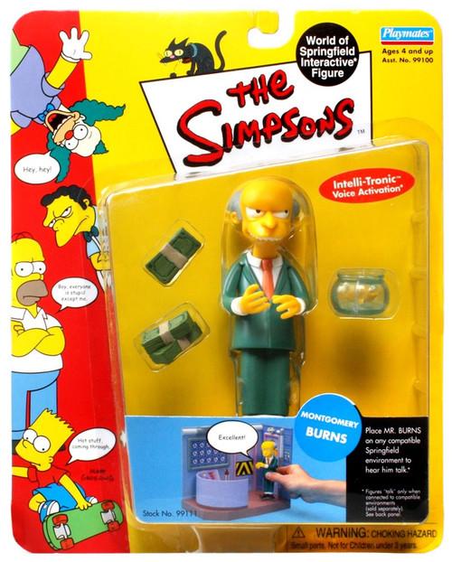 The Simpsons Mr. Burns Action Figure