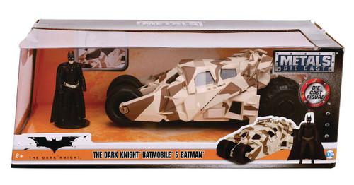 DC The Dark Knight Rises Camo Tumbler Batmobile & Batman Diecast Vehicle