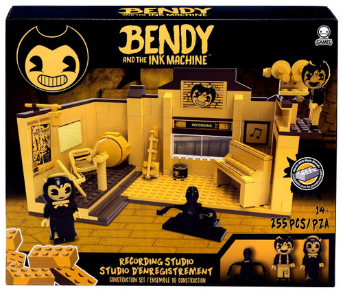 Bendy and the Ink Machine C3 Construction Recording Studio Buildable Scene Set