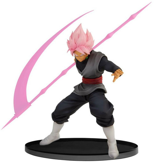 Dragon Ball Z: Buyu Retsuden World Figure Colosseum 2 Super Saiyan Rose Goku Black 5.5-Inch Collectible PVC Figure Vol. 9