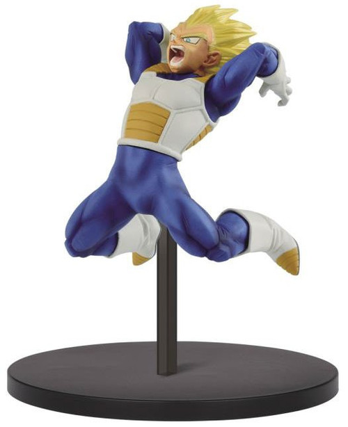 Dragon Ball Z: Buyu Retsuden Chosenshiretsuden Super Saiyan Vegeta 6.3-Inch Collectible PVC Figure