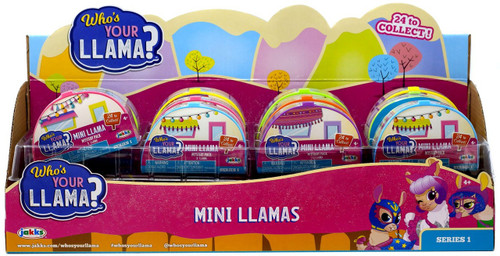 Series 1 MINIS Who's Your Llama? 2-Inch Mystery Box [24 Packs]