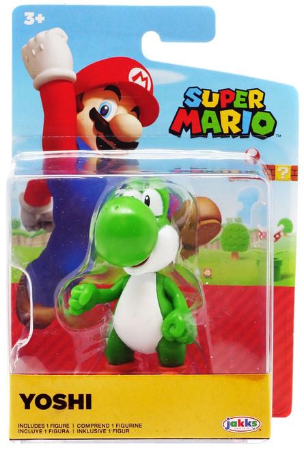 World of Nintendo Super Mario Wave 20 Yoshi 2.5-Inch Mini Figure [Green]