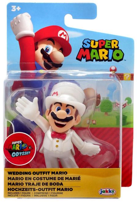 World of Nintendo Super Mario Wave 20 Wedding Mario 2.5-Inch Mini Figure