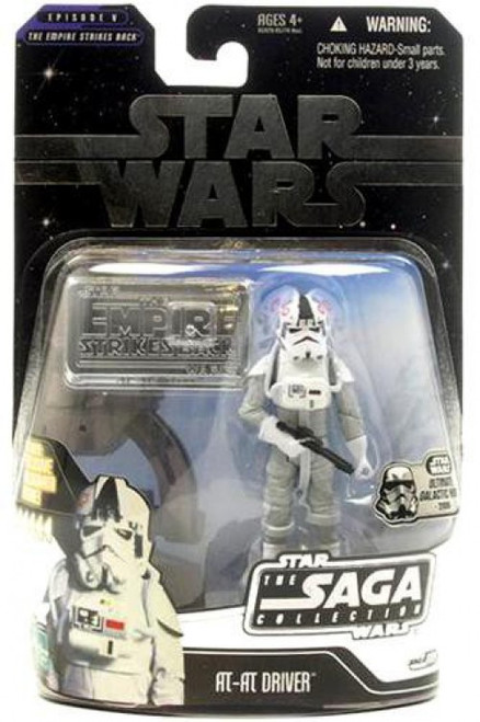 Star Wars The Empire Strikes Back 2006 Saga Collection AT-AT Driver Action Figure [Ultimate Galactic Hunt]