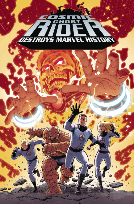 Marvel Comics Cosmic Ghost Rider Destroys Marvel History #1 Comic Book [Carlos Pacheco Variant Cover]