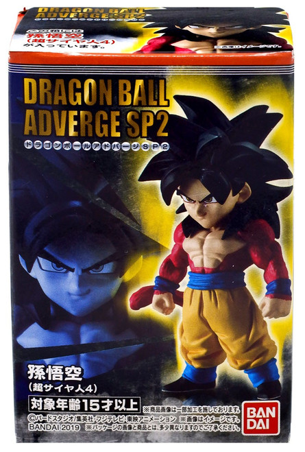 Dragon Ball Super Adverge SP02 SS4 Goku Mini Figure