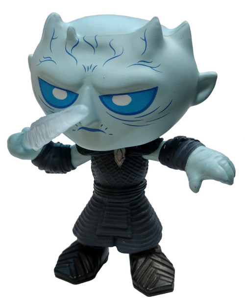 Funko Game of Thrones Series 4 Night King Exclusive 1/12 Mystery Minifigure [Throwing Spear, Glow-in-the-Dark Loose]