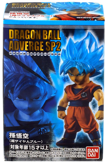 Dragon Ball Super Adverge SP02 Super Saiyan Blue Goku Mini Figure