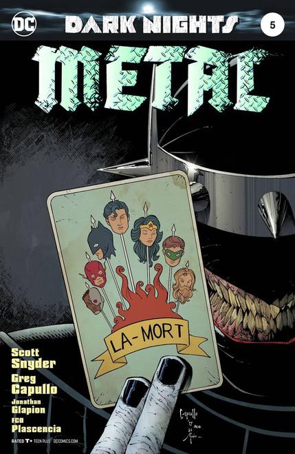DC Dark Nights Metal #5 Comic Book [Foil Stamped Cover]