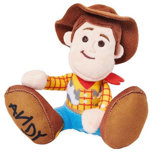 Disney Toy Story Tiny Big Feet Woody Exclusive 4-Inch Micro Plush