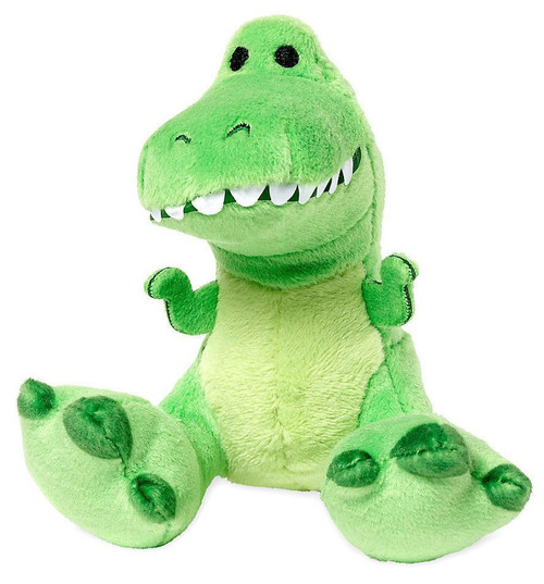 Disney Toy Story Tiny Big Feet Rex Exclusive 4-Inch Micro Plush
