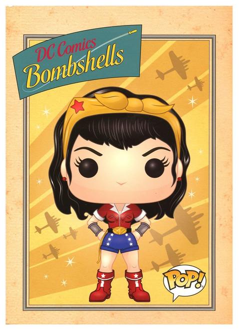 Funko DC Bombshells Wonder Woman Exclusive Notebook [Bombshells Box]