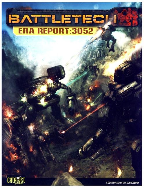 BattleTech Era Report: 3052 Board Game Accessory Book