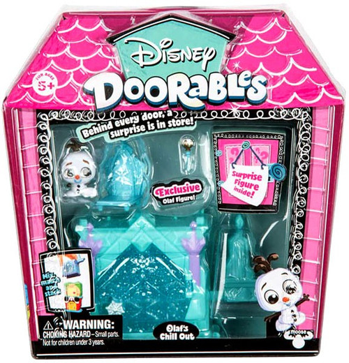 Disney Doorables Olaf's Chill Out Mini Display Set [Frozen]