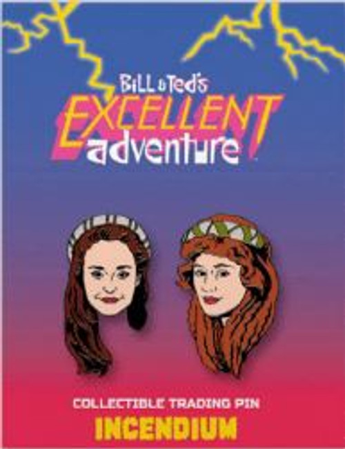 Bill & Ted's Excellent Adventure The Princesses 2-Inch Set of 2 Lapel Pins