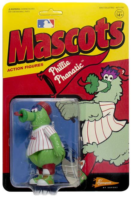 ReAction MLB Mascots Philadelphia Phillies Phillie Phanatic Action Figure