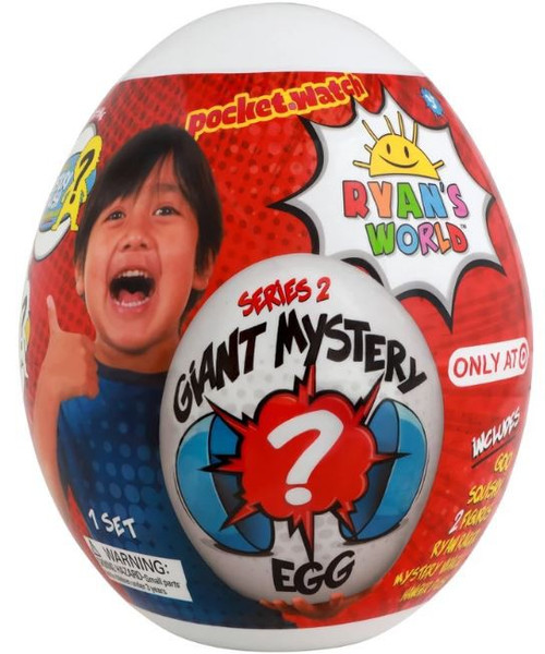 Ryan's World Series 2 Giant Egg Exclusive Mystery Surprise [WHITE]